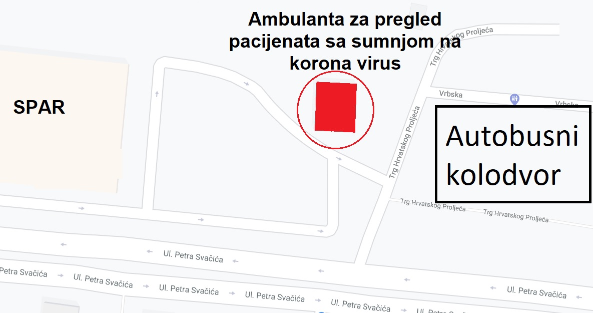 Lokacija ambulante